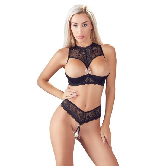 Cottelli Shelf Bra and String