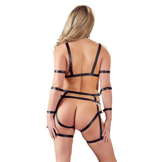 2 Piece Matt Look Bondage Set