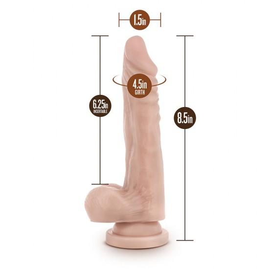 Dr. Skin Realistic Cock Stud Muffin Dildo