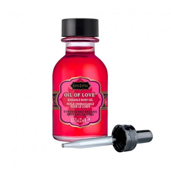 Kama Sutra Strawberry Dreams Oil Of Love Kissable Body Oil