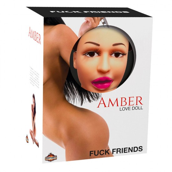 Amber Inflatable Life Size Love Doll