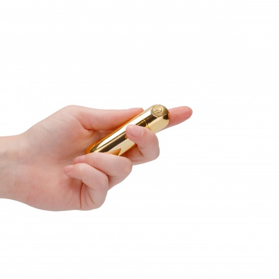 10 speed Rechargeable Bullet Gold